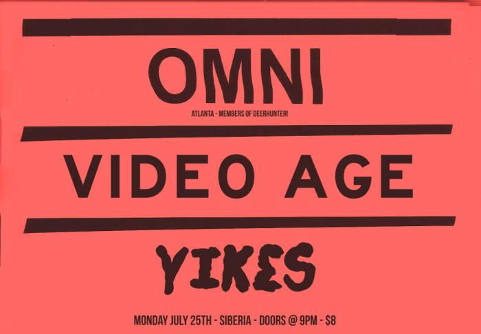 OMNI (mems of Deerhunter) | Video Age | Yikes