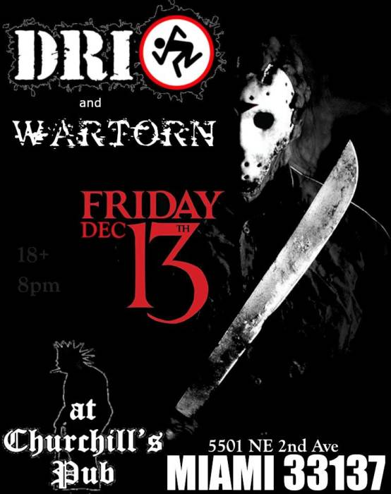 D.R.I. & Wartorn