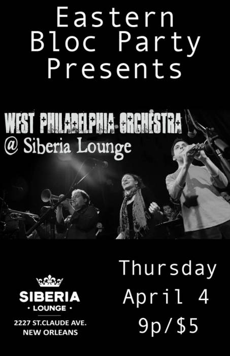 Eastern Bloc Party: West Philadelphia Orchestra
