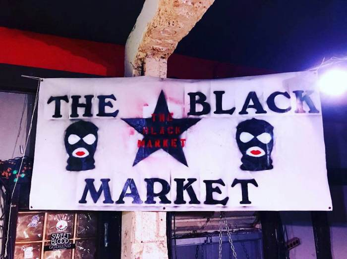 THE BLACK MARKET