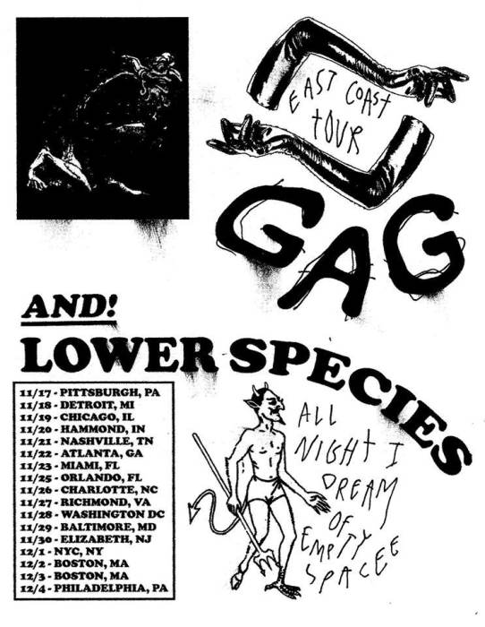 GAG & Lower Species
