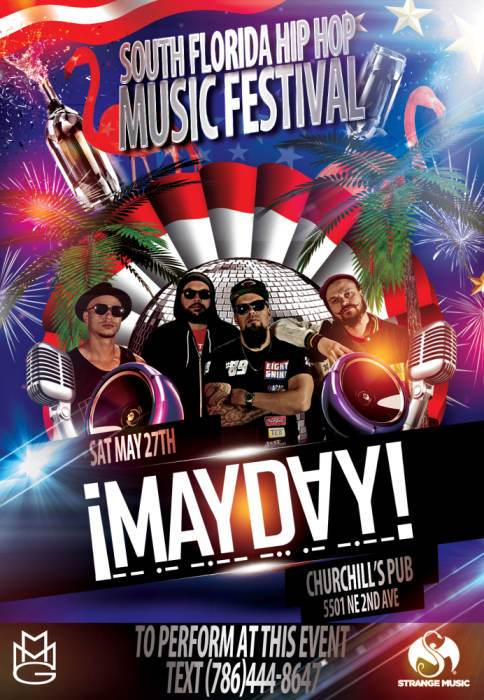 South Florida Hip-Hop music festival featuring MAYDAY!