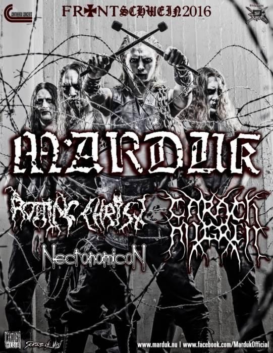 MARDUK | Rotting Christ | Carach Angren | Necronomicon