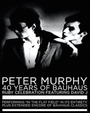 Peter Murphy - SOLD OUT!