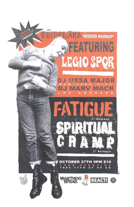 "Fatigue (7"" Release), Spiritual Cramp (7"" Release)"