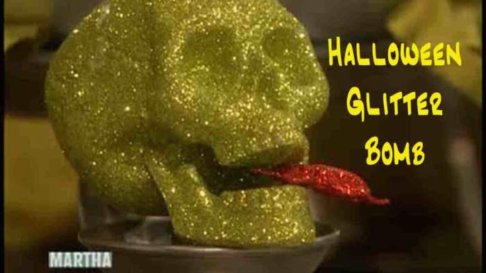 Halloween Glitter Bomb
