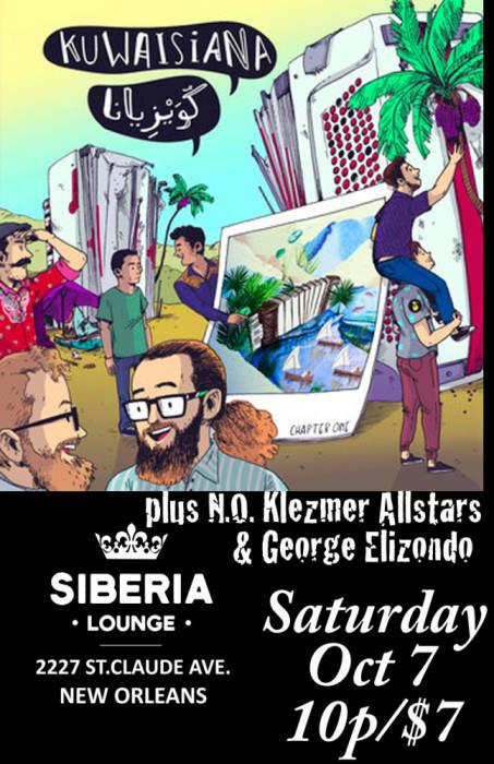 New Orleans Klezmer Allstars | Kuwaisiana | George Elizondo