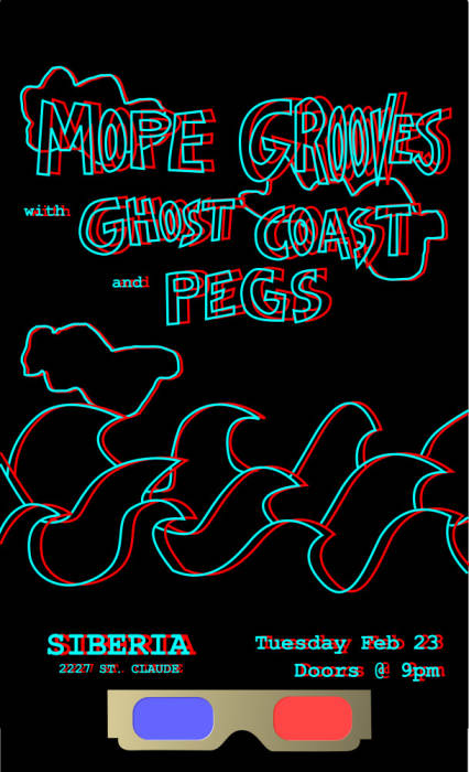 Mope Grooves   Ghost Coast   PEGS   TBA