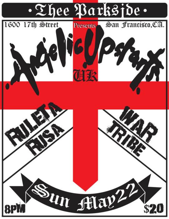 Angelic Upstarts (UK), Ruleta Rusa, wartribe