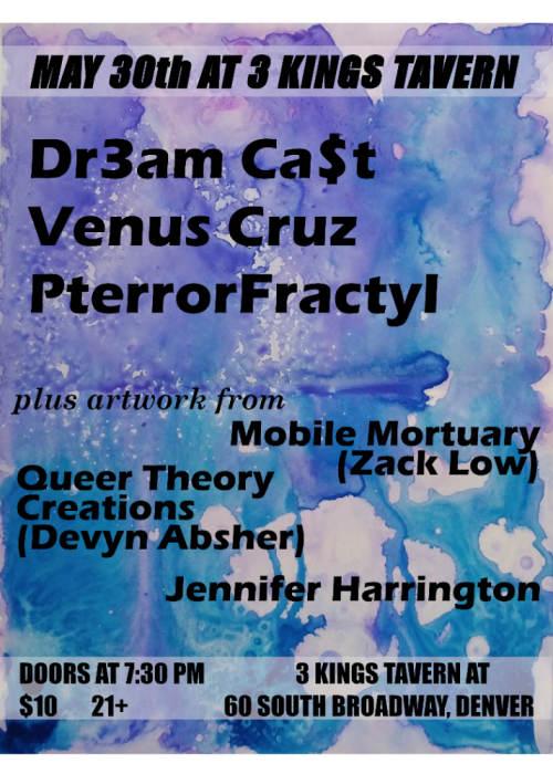 Dr3am cast, venus cruz, PterrorFractyl