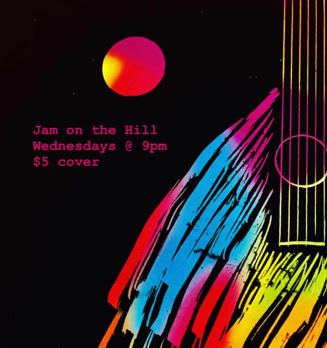 Drop out of life with Handelsman and Jam on the Hill in the green room
