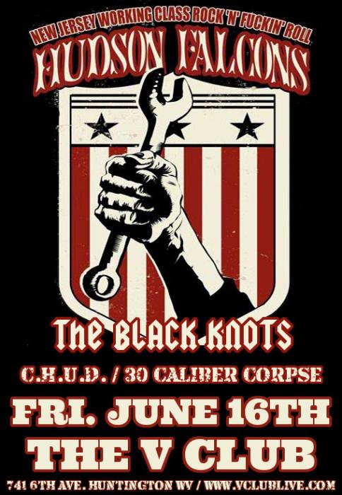 Hudson Falcons / The Black Knots / C.H.U.D. / 30 Caliber Corpse