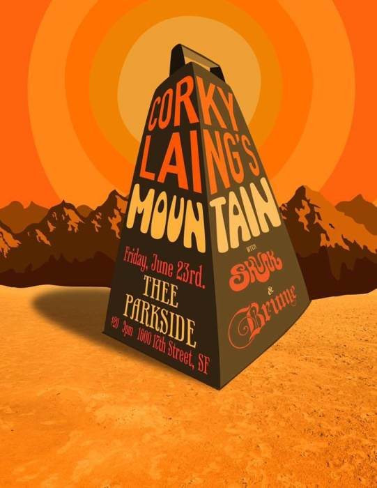 Corky Laing plays MOUNTAIN, Skunk, Brume