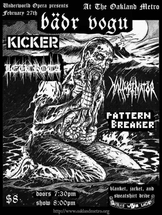 Bädr Vogu -   Kicker -  LEUCROTA   -Pattern Breaker