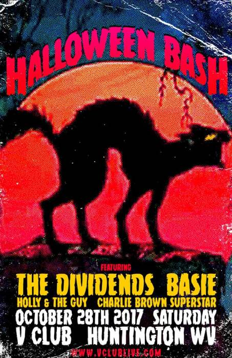 Halloween Bash W/ The Dividends / Basie / Holly & The Guy / DJ Charlie Brown Superstar