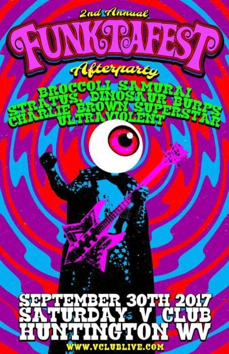 Funktafest Afterpary W/ Broccoli Samurai / Stratus / Dinosaur Burps / Charlie Brown Superstar / Ultra Violent