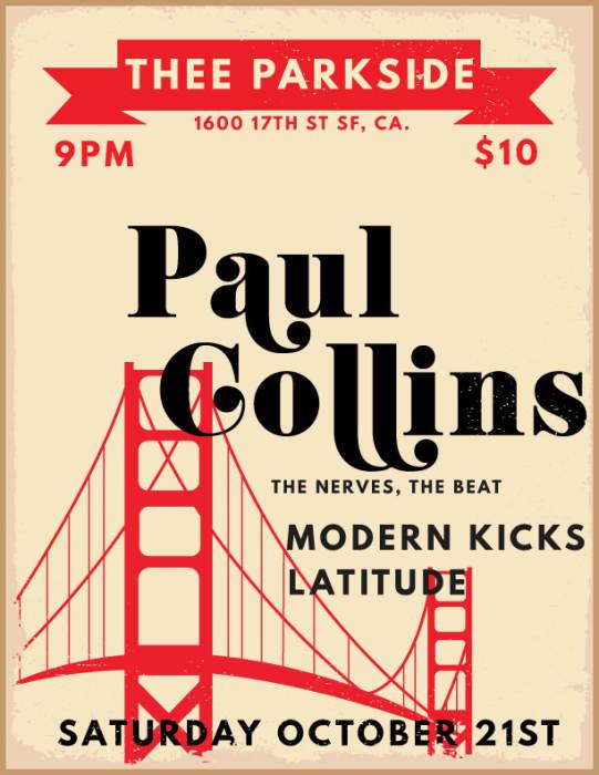 Paul Collins (The Nerves, Paul Collins