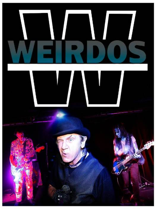 The Weirdos, Egrets on Ergot, Adrenochrome, Turqouiz Noiz