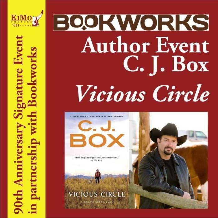 Author Event -  C.J. Box Vicious Circle