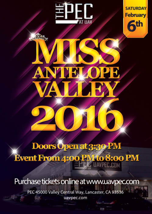 Miss Antelope Valley Pageant 2016
