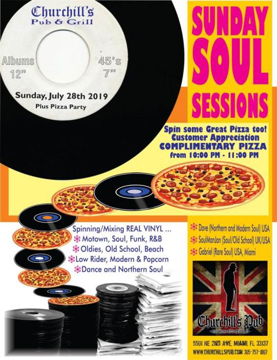 Sunday Soul Sessions with DJs Soul Man Jan, Gabriel, and Dave