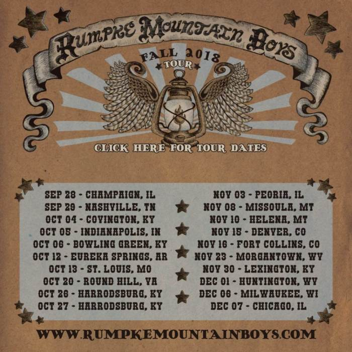 Rumpke Mountain Boys &  Restless Leg String Band