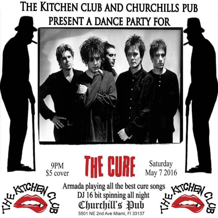 The Kitchen presents a Cure Tribute with Armada! & DJ 16 BIT