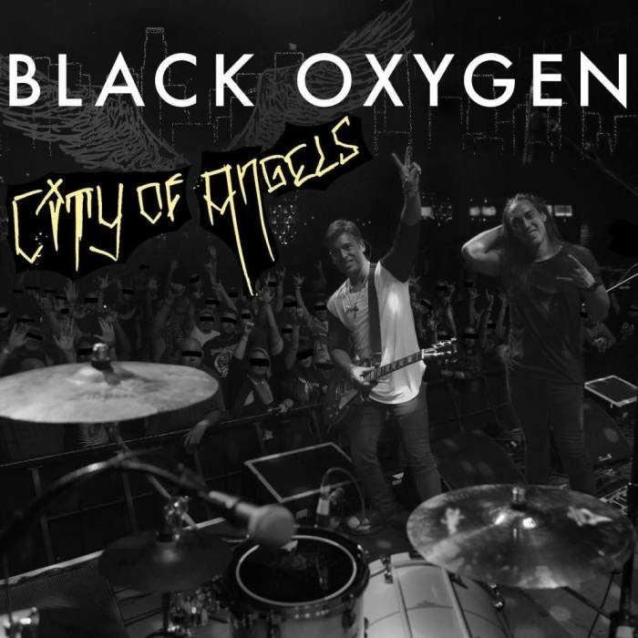 "Black Oxygen ""City Of Angels"" 2018 USA Summer Tour with Surrender Stella, Candybone & special guests."