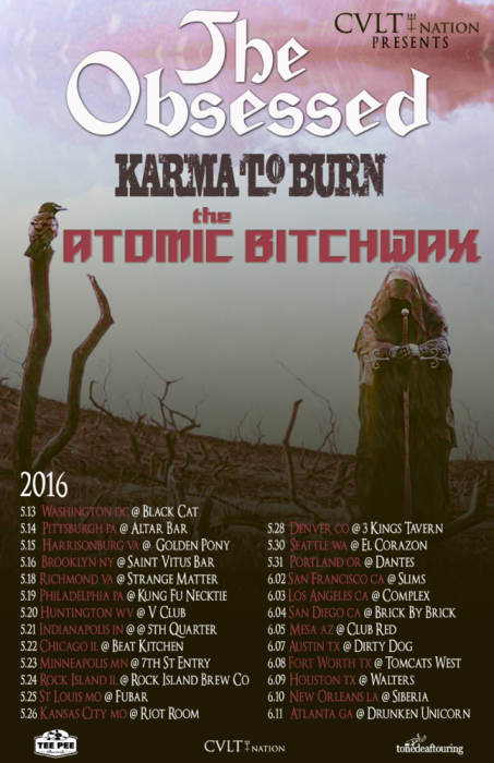 The Obsessed, Karma to Burn and The Atomic Bitchwax