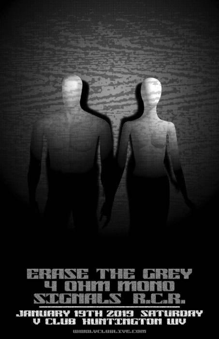 Erase the Grey / 4 Ohm Mono / Signals / R.C.R.