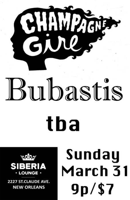 Champagne Girl, Bubastis, tba