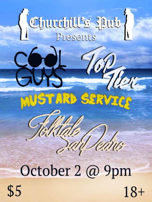 Cool Guys, Folktales, Mustard Service, Top Tier, Games We Play