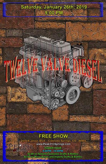 Twelve Valve Diesel