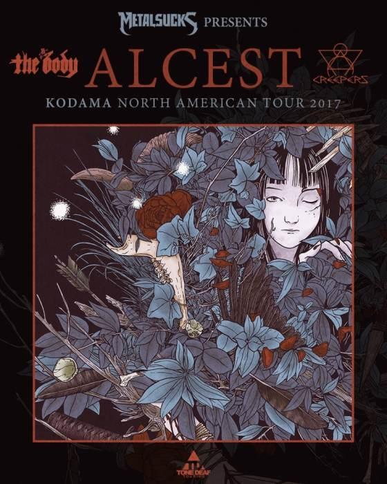 ALCEST, THE BODY, CREEPERS