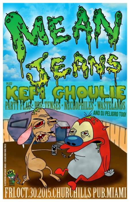Idle Hands Presents: Means Jeans, Kepi Ghoulie, Party Flag, Pre-tenses, Necrophiles, Pool Party | Churchill