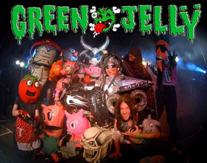 GREEN JELLY w/ tbd