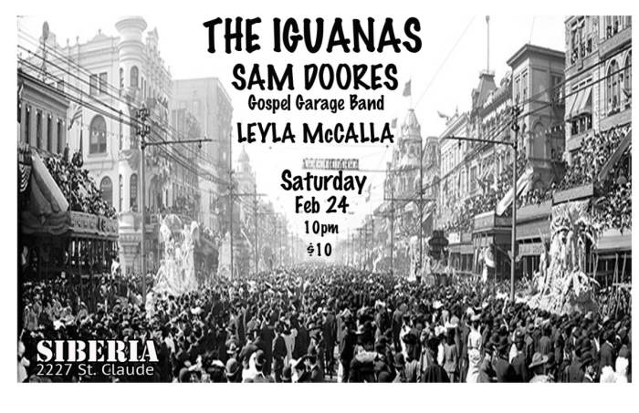 THE IGUANAS | Sam Doores Gospel Garage Band | Leyla McCalla