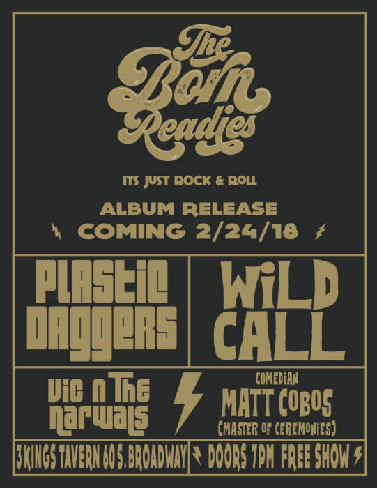 THE BORN READIES CD RELEASE!
