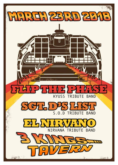 FLIP THE PHASE, SEARGENT D'S LIST, EL NIRVANO