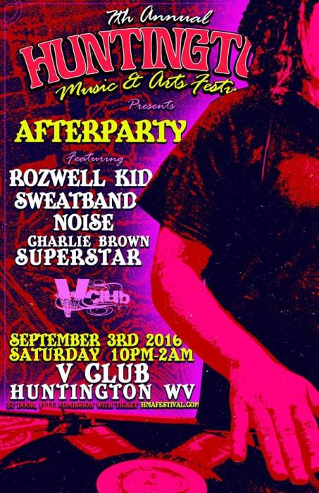 HMAF After Party W/ Rozwell Kid / Sweatband / Noise / Charlie Brown Superstar