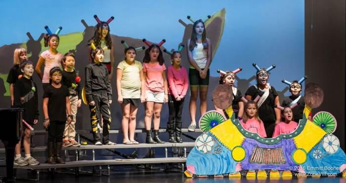 Opera Storytellers Camp Performance
