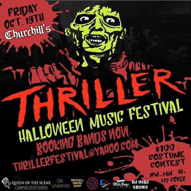 Thriller Music Festival