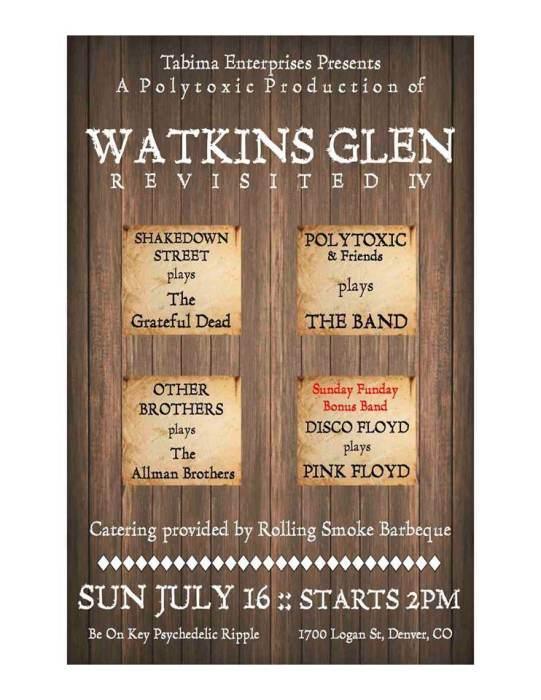Polytoxic:  Watkins Glen Experience