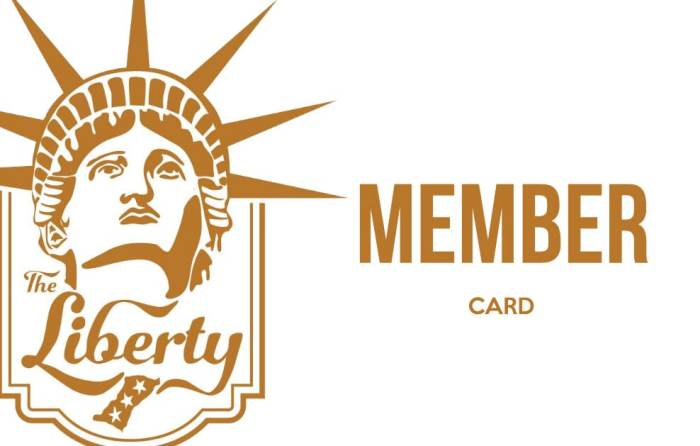 The Liberty Inc - 2020 Membership