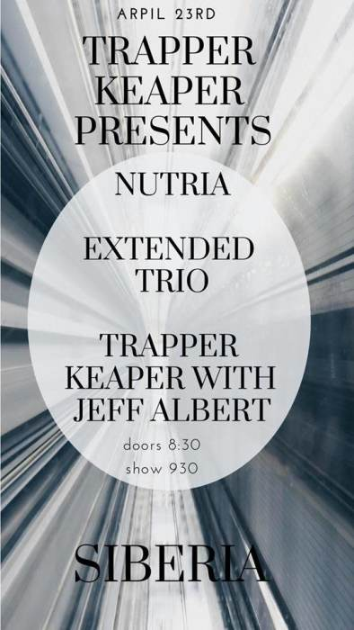 Trapper Keeper, Nutria, Extended Trio