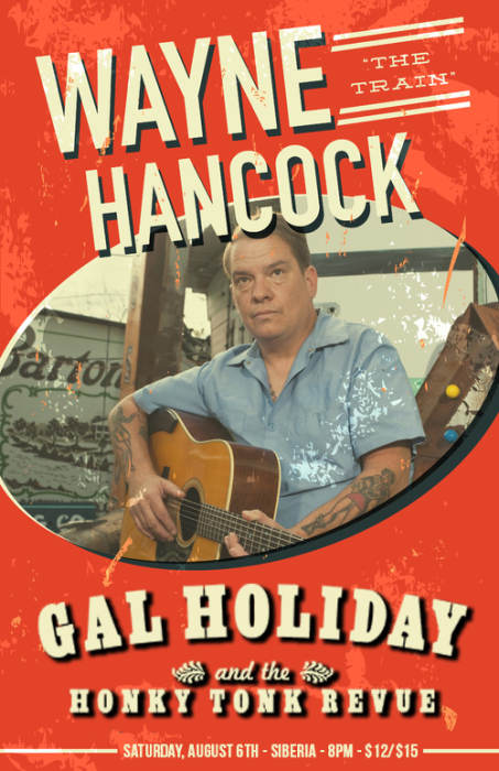 "Wayne ""The Train"" Hancock 