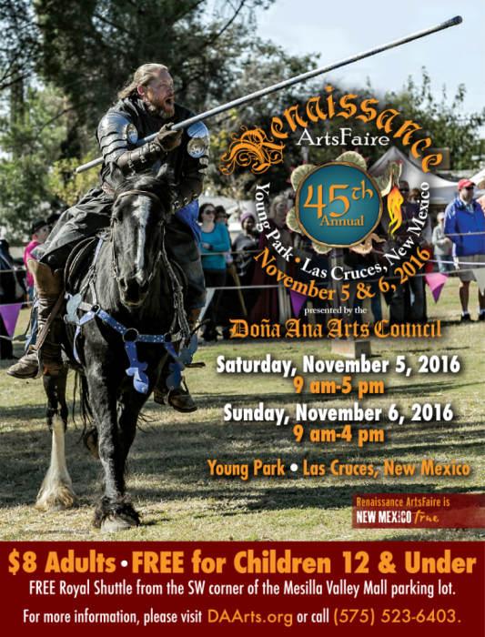 Saturday -  45th Annual Renaissance ArtsFaire