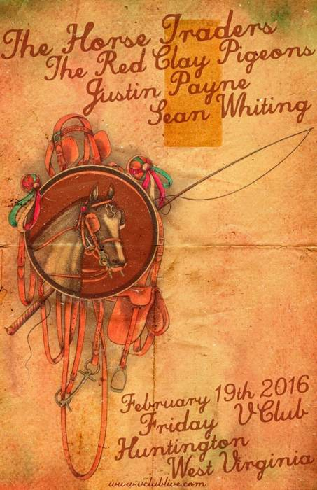 The Horse Traders / Red Clay Pigeons / Justin Payne / Sean Whiting