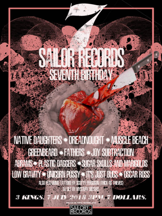 SAILOR RECORDS 7th BIRTHDAY!!