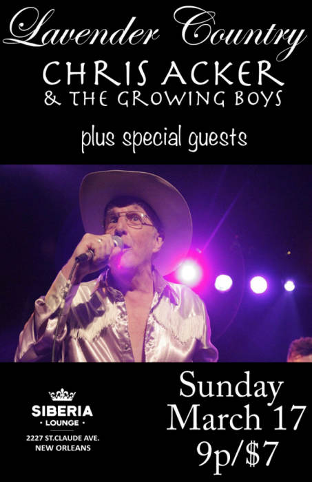 Lavender Country | Chris Acker & The Growing Boys